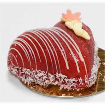 Valentijns gebak framboos