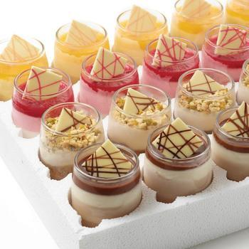 Squisito glaasjes (4 soorten)