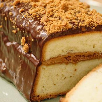 cake met speculaas
