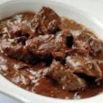 Stoofvlees (+ 1 kleine friet)