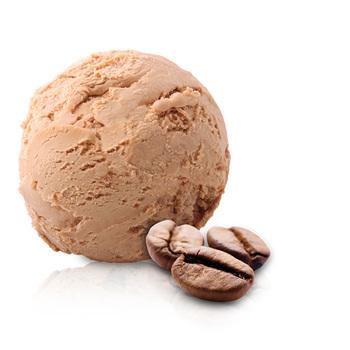 suikervrije mokka ijs