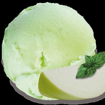 groene appel sorbet