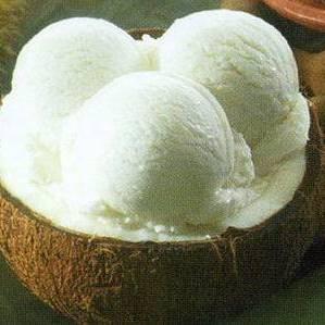 kokos sorbet