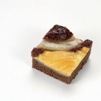 mini chocolade-perentaart