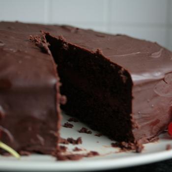 chocolade taart voorgesn 10 pers